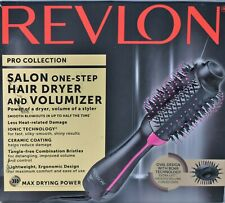 Revlon Pro Collection Salon one-step Hair Dryer Volumizer Hot Air Brush Blow Dry