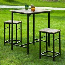 SoBuySet de 2 Taburetes y 1 mesa,juego de 3 piezas comedor mesa,H87cm,OGT10-N,ES
