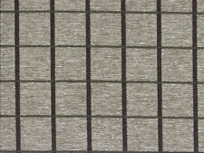 Designer Upholstery Fabric Heavy Wt. Textured Woven Plaid - Charcoal / Olive