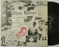 "CHET BAKER ""SINGS & PLAYS WITH BUD SHANK-PACIFIC JAZZ DG"