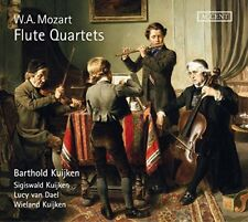 Barthold Kuijken - Mozart: Flute Quartets [CD]