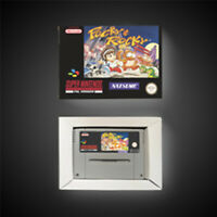 Pocky & Rocky PAL EUR Version With Retail Box Action Game Super SNES Nintendo
