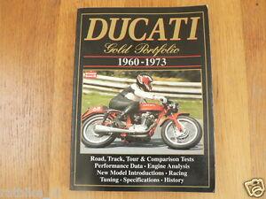 DUCATI GOLD PORTFOLIO 1960-1973 ISBN 1855203502 BROOKLAND BOOKS 900 SS,TWINS,DAR