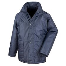 Result Padded Managers Jacket Coat Navy Blue XXXXL 56 Waterproof Hooded 4xl
