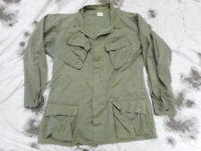 original 1969 og 107 green US ARMY VIETNAM War 3RD Pat BDU jungle COAT JACKET ML