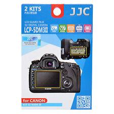 2x Film Protection Ecran LCD Visière H3 pour Appareil Photo Canon EOS 5D Mark II