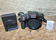 Nikon D3300 24.2MP Digital SLR Camera - Black (Body Only) - 82 Shutter Count!