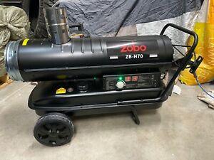 Zobo 70,000 BTU Indirect Fired Flameless Jobsite Heater Diesel/Kerosene New