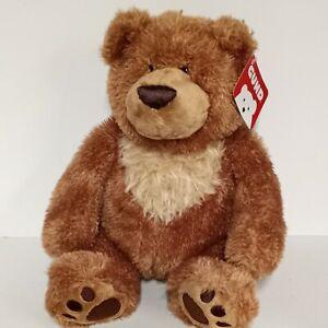 "GUND 16"" Plush SLUMBERS BEAR Teddy 6047649 Tan Brown Soft Stuffed Animal Toy NWT"