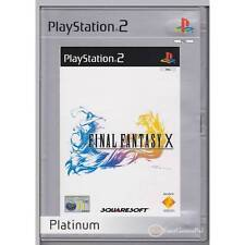 PLAYSTATION 2 FINAL FANTASY 10 FFX PLATINUM PS2 PAL NOT SEALED LAST ONE [BN]