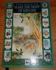 Kruger National Park MAKE THE MOST OF KRUGER HB book South Africa Safari