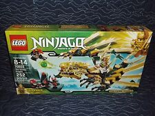 Sealed Lego 70503 Ninjago The Final Battle Golden Dragon Battle w/ Golden Lloyd!