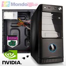 PC Computer Desktop Intel J1900 Quad Core - Ram 8 GB DDR3 - SSD 240 GB - GTX 750