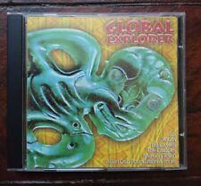 Various, Global Explorer Zip dog records 1997 Cd Ex Cond