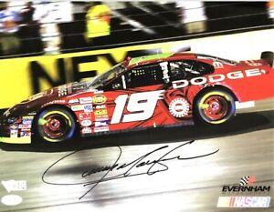 JEREMY MAYFIELD HAND SIGNED AUTOGRAPHED 8X10 NASCAR PHOTO WITH FANATICS COA 1