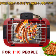 2000W Portable Electric Grill Machine Indoor Outdoor Smokeless BBQ Nonstick Plat
