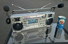 Sanyo M7900K vintage boombox ghettoblaster from 1980 VERY CLEAN!!!