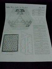 Vintage Quilt Pattern Milky Way Mail Order 1930s Pieced