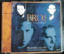 Bros - Are You Mine - Very Rare Promotional Sampler CD - Matt Goss Luke Goss
