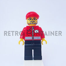 LEGO Minifigures - 1x post006 - Postman - Postino Town Omino Minifig Set 7731