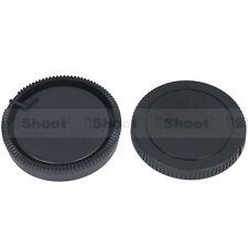 Camera body cap ✚ rear lens cover for Sony a900 a850 a750 Konica Minolta a5 a7D