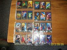Superman Man of Steel Platinum Series Premium Edition complete set in binder.