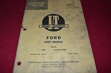 Ford 6000 Commander 6000 Tractor I&T Shop Manual SKCA