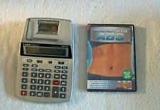 CANON P23-DH V 12 DIGIT PRINTING CALCULATOR AND FREE CRUNCHLESS ABS DVD!!
