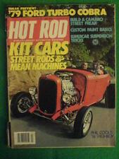 HOT ROD - KIT CARS - July 1978 vol 31 #7