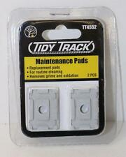 OO HO Woodland Scenics Replacement Maintenance Pads Rail tracker cleaner TT4552