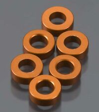 Axial Wraith Replacement Rock Racer Crawler  Spacer 2x6mm Orange (6) AXA1351