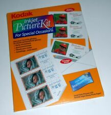 KODAK INKJET PICTURE KIT FOR SPECIAL OCCASIONS WITH KODAK SOFTWARE CD NEW SEALED