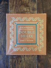 Easton Press SIGNED James Watson DOUBLE HELIX ANNOTATED LIMITED EDITION SEALED