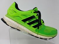 Adidas Energy Boost 2 ATR Mens Running Shoe Size 12 Neon Green Black Training