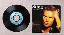 """VINYLE 45T 7"""" SP MUSIQUE / STING """"FRAGILE / FRAGIL (PORTUGESE)"""" 1988 A&M RECORDS"""