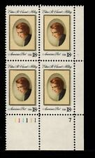 Sc # 1926 ~ Plate # Block ~ 18 cent Edna St. Vincent Millay Issue (cf10)