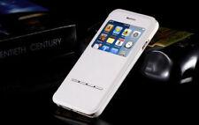 Étuis, housses et coques etuis portefeuilles blancs en cuir pour téléphone mobile et assistant personnel (PDA)