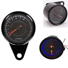 LED light Universal 13000 RPM Scooter Analog Tachometer for Motorcycle DC 12V