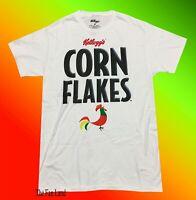 New Corn Flakes Kelloggs Mens Vintage T-Shirt