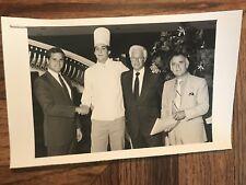Caesars Palace Photo Of Scholarship Winner Joe Pagno With T. Lanni, Nat Hart