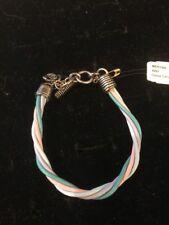 """Toned Chorded Bracelet $29 (Dc) Premier Designs """"Merynn"""" 7.5"""" Multi"""