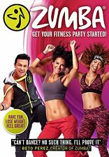 Zumba Get Your Fitness Party Started! Workout Fitness Exercise 2016 NEW UK DVD