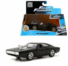 JADA FAST AND FURIOUS 7 DOM'S 1970 70 DODGE CHARGER R/T 1:32  BLACK 97214