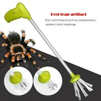 Insect Bug Catcher Handheld Spider Trap Insect Grabber Pest Control Tools R1BO