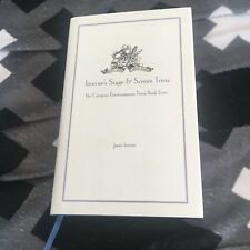 LIKE NEW, JAMES INVERNE, STAGE & SCREEN TRIVIA. HARDCOVER WJACKET. 186074592X