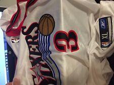Allen Iverson white  Philadelphia Sixers  reebok jersey  adult XL