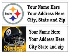 60 PITTSBURGH STEELERS RETURN ADDRESS LABELS MANY CHOICES