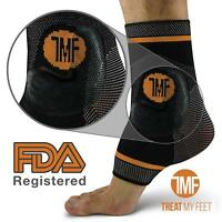 [$25] Compression Ankle Brace Anti-Microbial Copper - Plantar Fasciitis Achilles