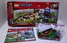 LEGO Harry Potter Quidditch Match (#4737) - 5 Mini Figures, Manual & Box 150/153
