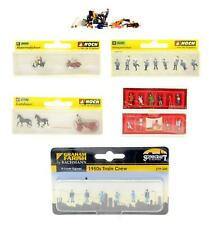 More details for various makes 'n' gauge lot of 7 assorted packs of figures